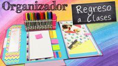 Te mostramos como hacer un organizador donde podrás llevar tu libreta, folios de papel, notas adhesivas, tus rotuladores y herramientas de estudio o trabajo,...