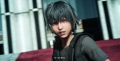 Baby!Noct turning into Adult!Noct in his dreamworld in the Platinum Demo. Oops I've Pinned this twice, but it's worth it.