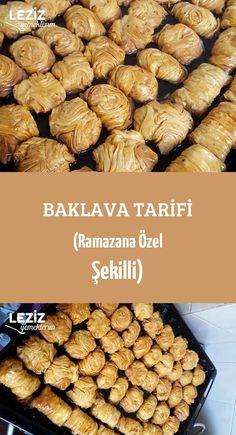 Baklava Tarifi (Ramazana Özel Şekilli)