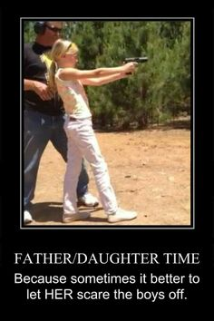 I have no worries for my daughter. Feel sorry for the boys.