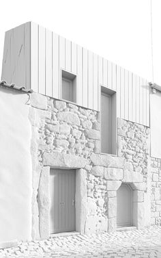 Penamacor_HOUSEImages SPEAK about rebuilding a house in Penamacor, a small village in Serra da Estrela.Facade of the existing house was retain and a new floor was created. Wood-lined manages to convey a sense of rurality to the building. The architectur…