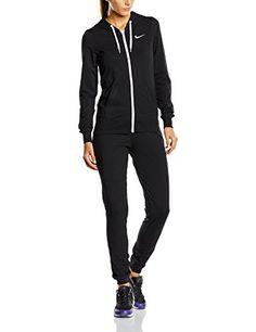 Nike 623417 Survêtement Femme Noir Noir Blanc Blanc FR   M (Taille Fabricant    M)  Amazon.fr  Sports et Loisirs a97a7ef486089