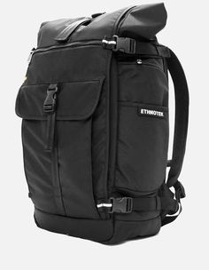 a78277c5f33d Ethnotek - Raja Reise Rucksack 46 balistic black Leather Backpack