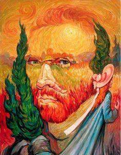 Vincent van Gogh/Holland - Got to see the Van Gogh exhibit in Brooklyn in 1971.  Awe struck!