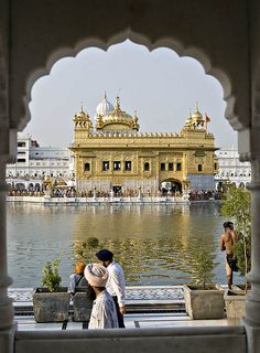 Golden Temple of Amritsar, India