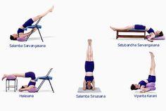 secuencias de yoga iyengar - Buscar con Google