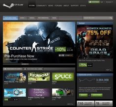 2003, Steam - digital distribution platform