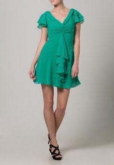 Laona - Vestido de cóctel - emerald green #zalando #kissmylook