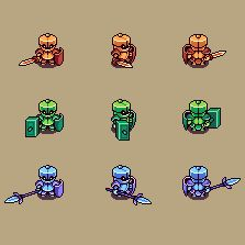 Awesome sprites and animation.