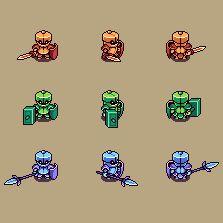 Knights of the Seasons Icon, Pixel Art, Buddy Icons, Forum Avatars
