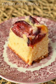 Łatwe ciasto ze śliwkami - niebo na talerzu