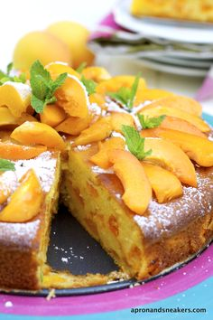 Apron and Sneakers - Cooking & Traveling in Italy and Beyond: Apricot & Mascarpone Cake and San Vito di Cadore, Dolomites