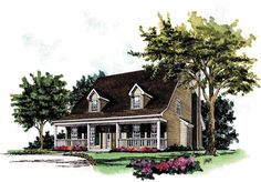 Dutch House Plan with 1737 Square Feet and 3 Bedrooms from Dream Home Source   House Plan Code DHSW52409