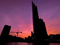 The dark towers of Bangkok quite dramatic scenery Mobile Photography, Night Photography, The Dark Tower, Business Travel, Willis Tower, Towers, Bangkok, The Darkest, Thailand