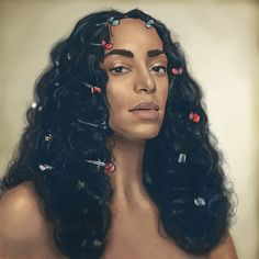 """thejuanreyes: """"Drew Solange to thank her for A Seat at the Table  """""""