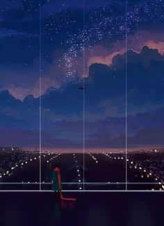 """Find and save images from the """"view"""" collection by R (velnika) on We Heart It, your everyday app to get lost in what you love. Wallpaper Animes, Animes Wallpapers, Cute Wallpapers, Aesthetic Art, Aesthetic Anime, Stock Design, Kairo, Anime Scenery, Aesthetic Wallpapers"""