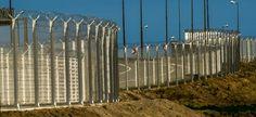 Calais: le mur végétalisé terminé