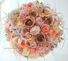 新郎新婦様からのメール と、アネモネ : 一会 ウエディングの花