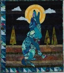 La Luna Lobo - this is supposed to be a wolf but makes me think of a coyote.
