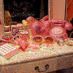 Pink Bling vanity omg follow:JennieGirlStyle