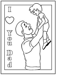 169 Free Father's Day Coloring Pages Dad Will Love: DLTK's Printable Father's Day Coloring Pages