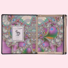 Spring Owl iPad Folio Case