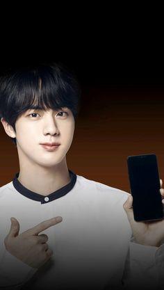 JIN ♥️ LG Smart World App: BTS Value Pack Home theme