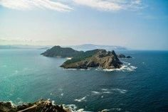 20 Photos to Inspire You to Visit the Cies Islands - Galicia Spain Travel Aerial View of Cies Islands Spain Travel, Aerial View, Bucket, Amazing, Water, Inspire, Outdoor, Inspiration, Landscapes