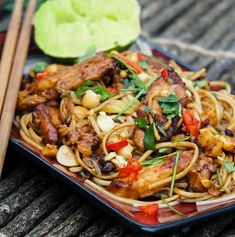 A great Asian recipe for Chicken Noodle Stir Fry Ingredients 450g Chicken Breast, thinly sliced 2 tablespoons Soy sauce 2 teaspoons Cornstarch or flour 1/2 cup Chicken stock 1 tablespoon […]
