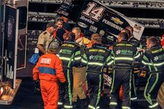 Tony Stewart breaks leg in Iowa sprint car wreck; replacement driver still undecided   From The Marbles - Yahoo! Sports