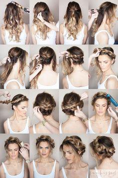Hướng dẫn làm các kiểu tóc đơn giản nhưng đẹp hết nấc tha hồ đi chơi Tết