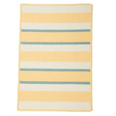 Sunny Days at the Beach!  Wonderful American Made rug for indoor or outdoor use -