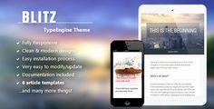 Blitz - Responsive TypeEngine Theme (TypeEngine Themes)