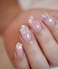 Pin on Products I Love Pin on Products I Love Pretty Nail Art, Cute Nail Art, Dream Nails, Love Nails, 3d Nails, Bright Summer Acrylic Nails, Pastel Nails, Ringa Linga, Rose Violette