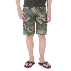 Wrangler Boys' Classic Cargo Short, Size: 10R, Green