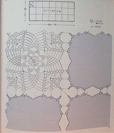 Delicadezas en crochet Gabriela: Mantelito rectangular.