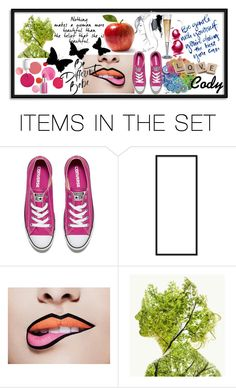 """Blog Banner Idea."" by sumoftheparts ❤ liked on Polyvore featuring art"