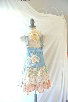 Summer boho festival shirt romantic shabby by TrueRebelClothing, $68.00
