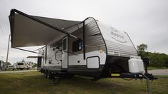 """WHERE WILL YOUR FAMILY'S NEXT ADVENTURE TAKE YOU?  2017 Jayco Jay Flight 32BHDS The power tongue jack and 4 stabilizer jacks with sand pads mean you can get this rig unhitched and set up without breaking a sweat! With an outside kitchen, you don't have to be stuck inside when it's meal prep time! With both an a/c unit and a furnace, you'll be comfortable camping in any season! The 32BHDS is 7,600 lbs dry and 35' 8"""" long!  Give our Jay Flight expert Joe Benedict a call 231-286-3233 for…"""