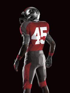 Ohio State's 2011 Nike Pro Combat College Football Helmets, Football Uniforms, Sports Uniforms, Nike Football, Ohio State University, Ohio State Buckeyes, Football Reference, Best Uniforms, Ohio Stadium