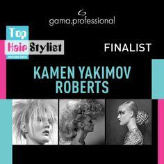 Kamen Yakimov Roberts finalista #Tophairstylist