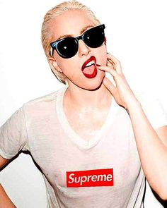 """Lady Gaga """"Supreme"""" 2011 - The 100 Sexiest Terry Richardson Photo Shoots   Complex"""