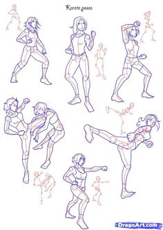 fighting poses - Google Search