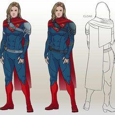 Supergirl Superman, Superman Art, Supergirl And Flash, Dc Comics Characters, Dc Comics Art, Marvel Dc Comics, Super Hero Outfits, Super Hero Costumes, Comic Character
