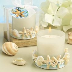 Life's a Beach Collection Candle It's surfside splendor with this pretty Life's a Beach Collection candle. We designed this candle beauty to add a beach-worthy