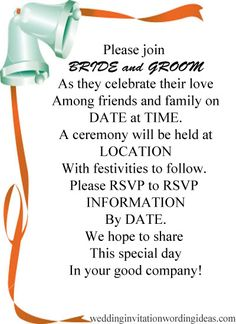 informal wedding invitations repinned from la wedding officiant httpsofficiantguycom wedding invitation wording examplesfunny