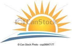 rising sun clip art vector clip art online royalty free public rh pinterest com au rising sun black and white clipart