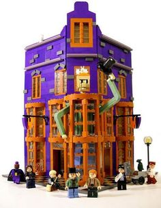 Weasley's Wizard Wheezes, I need this so badly I don't even care that I'm probably too old for lego.