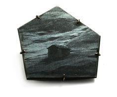 """Julia Maria Künnap, Sondra Sherman and Bettina Speckner at Manchester Art Gallery - """"BLACK on BLACK"""" (Bettina Speckner brooch)"""
