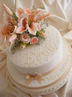 80th birthday cake by sarah288, via Flickr